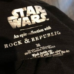 Rock & Republic Tops - ROCK & REPUBLIC Star Wars Tee Shirt Size M